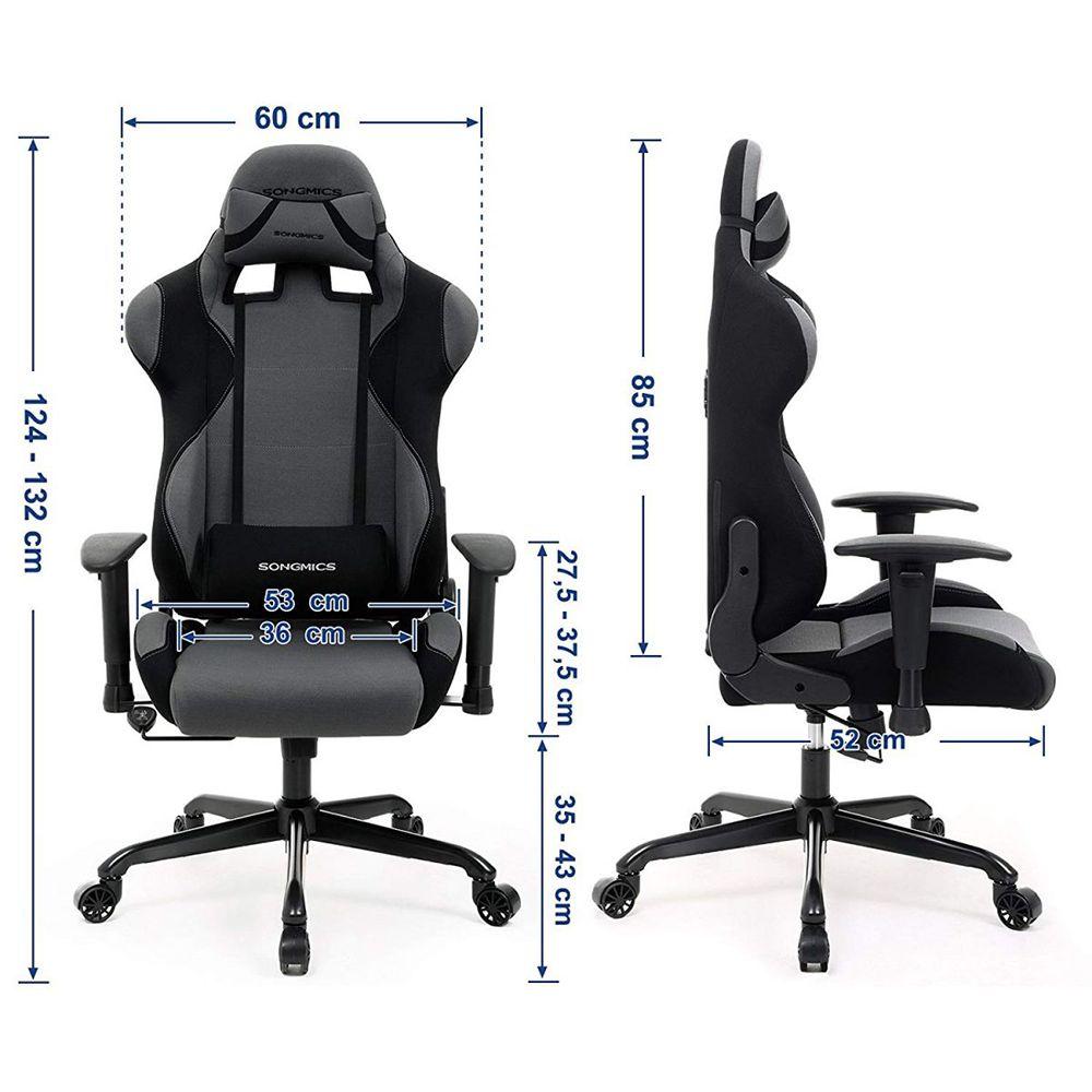 Gamingstuhl Und Armlehnenschwarz Neigetechnik Mit Verstellbaren T1JclFK