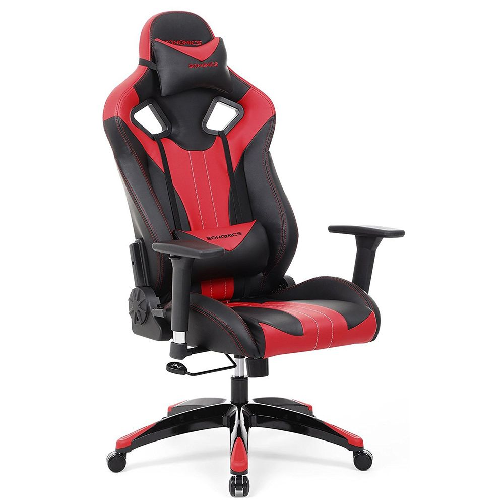 gaming stuhl rot schwarz