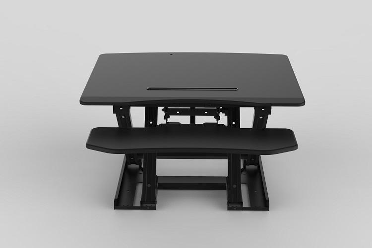 Schreibtisch h henverstellbar ergolution for Ergonomischer schreibtisch