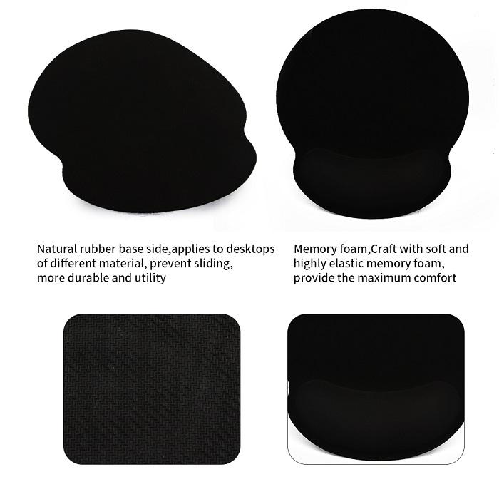 mauspad mit handauflage ergolution. Black Bedroom Furniture Sets. Home Design Ideas